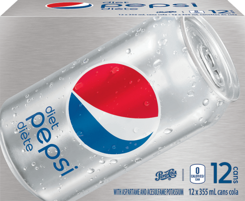 Pepsi Diète 12 x 355 mL
