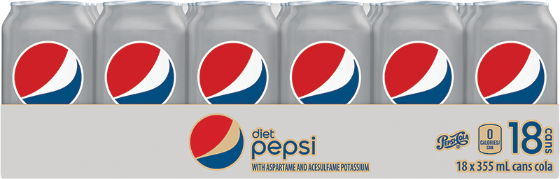 Diet Pepsi 18x355ml