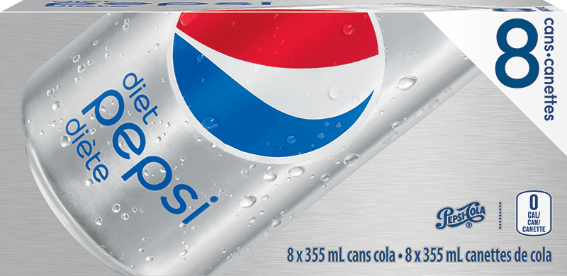 Pepsi Diète 8 x 355 mL