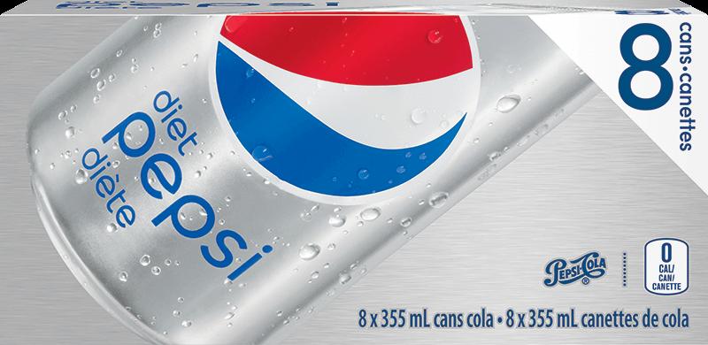 Diet Pepsi 8x355ml