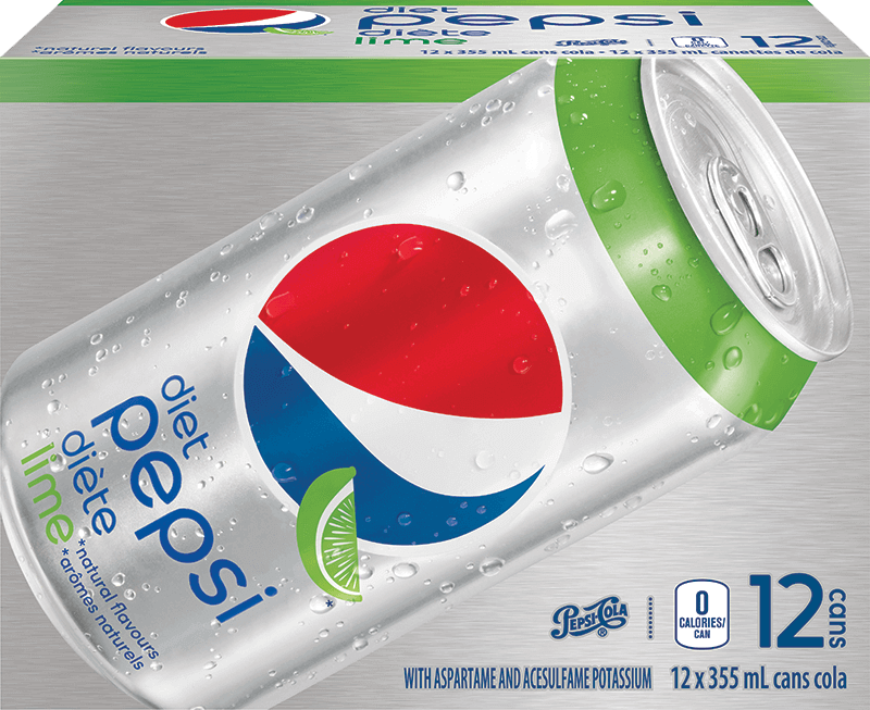 Diet Pepsi Lime 12x355ml