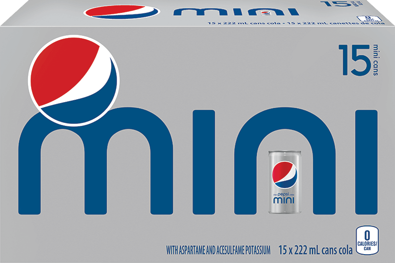Diet Pepsi Mini 15x222ml
