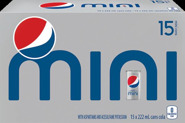 Diet Pepsi Mini 15x222ml