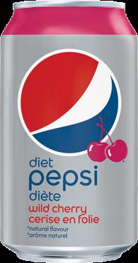 Pepsi Diète Cerise en Folie