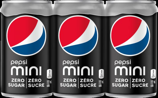 Pepsi Zéro Sucre 6x222mL