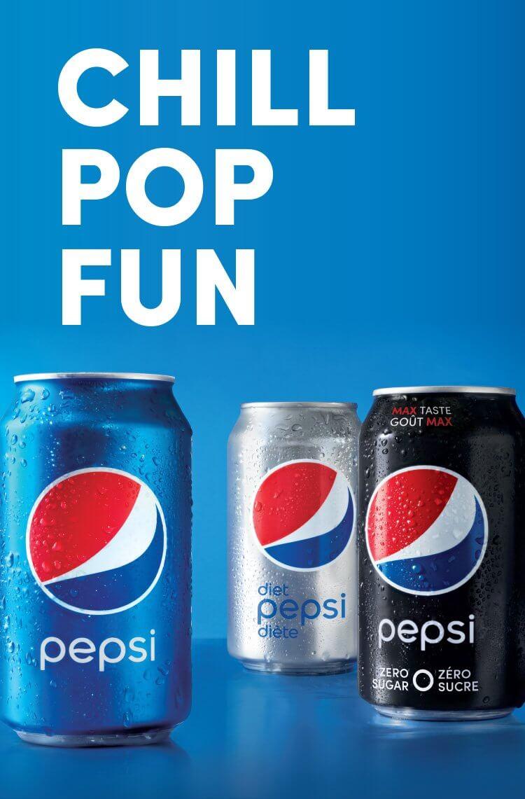 Chill pop fun - Pepsi